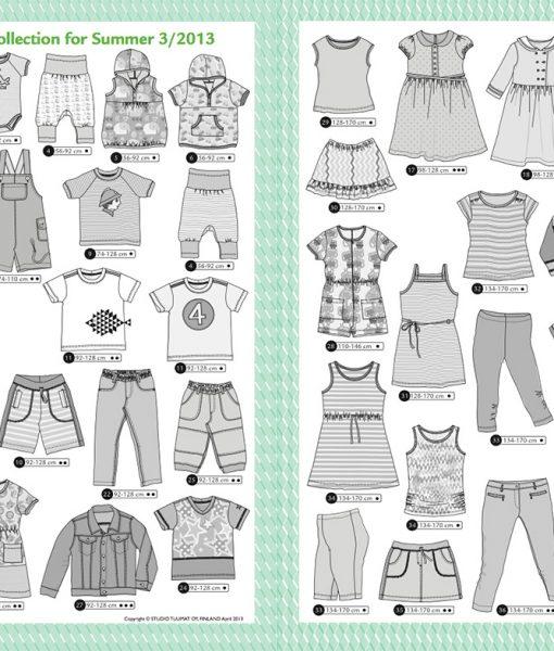 Ottobre Design Summer Kids Fashion 3/2013