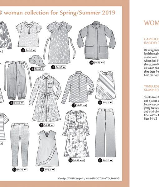 Ottobre Design Spring/Summer Woman 2/2019