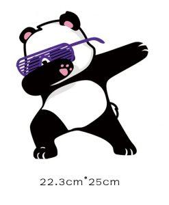 Termoaplikacija debbing Panda, didelė