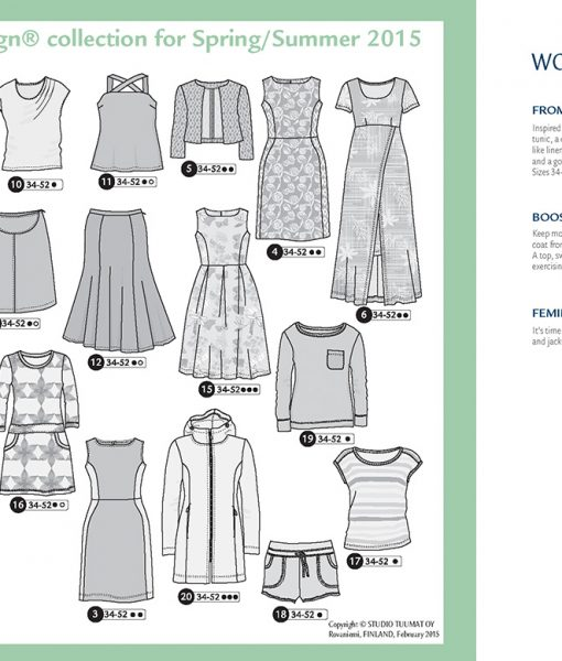 Ottobre Design Spring/Summer Woman 2/2015