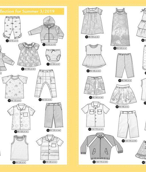 Ottobre Design Summer Kids Fashion 3/2019