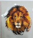 Termoaplikacija Liūtas, didelė