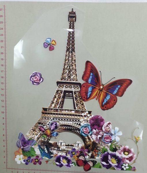 Termoaplikacija Eifelio bokštas, didelė