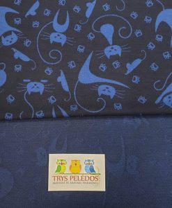 Žakardas Mėlyni katinai