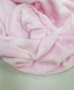 Dvipusis flisas Šviesiai rožinis