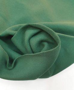 Pašiltintas, storas trikotažas Tamsiai žalias