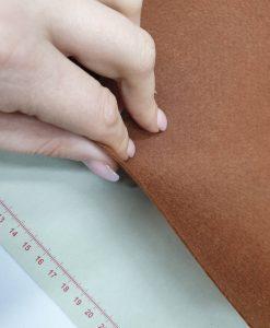 Dirbtinio veltinio (filco) lakštas, rudas