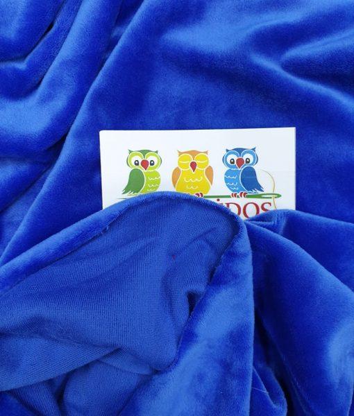 Soft veliūras Ryškiai mėlynas