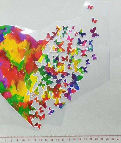 Termoaplikacija Širdelė, didelė