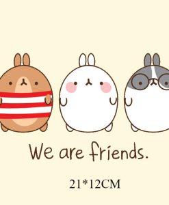 Termoaplikacija We are friends, didelė