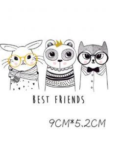 Termoaplikacija Best friends, maža