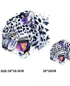 Termoaplikacija Geopardas, didelė