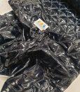 Dygsniuotas varnelėm vienpusis striukinis audinys Tamsiai mėlynas metalic20683739136_n