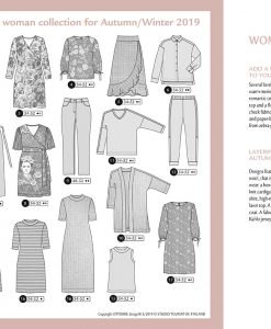 Ottobre Design Autumn/Winter Woman 5/2019