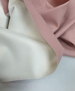 Dirbtinė storesnė EKO oda Rožinė matinė