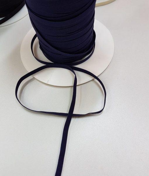 Minkšta plona guma 6 mm, tamsiai mėlyna, 10 m