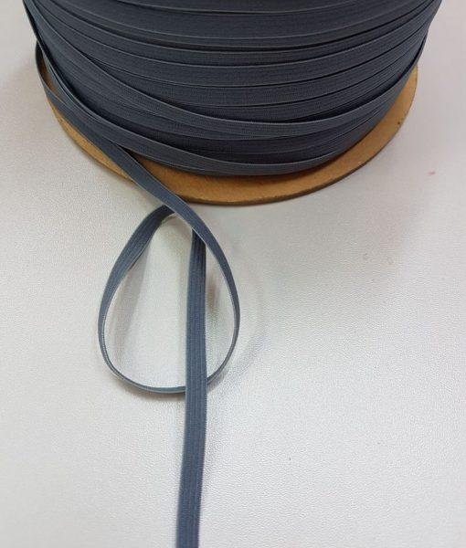 Minkšta plona guma 6 mm, pilka, 10 m
