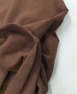 Pašiltintas, nestoras bambukinis trikotažas Rudas