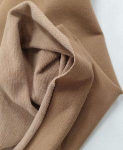 Pašiltintas, nestoras elastingas trikotažas Smėlinis