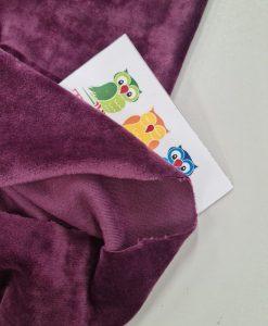 Soft veliūras Violetinis