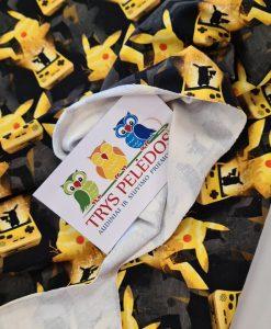 Kilpinis, skaitmeninės spaudos trikotažas Pikachu