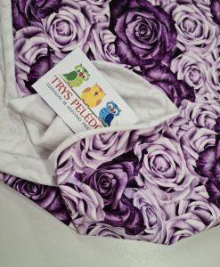 Kilpinis, skaitmeninės spaudos trikotažas Violetinė rožės