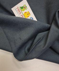 Pašiltintas, nestoras elastingas trikotažas Pilkas indigo