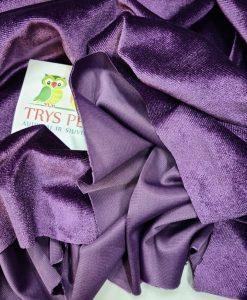 Sintetinis veliūras Šviesiai violetinis