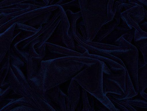 Sintetinis veliūras Tamsiai mėlynas