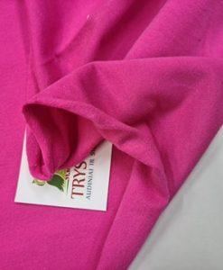 Pašiltintas, nestoras elastingas trikotažas Rožinis