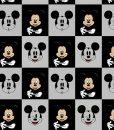 Kilpinis, skaitmeninės spaudos trikotažas Mikiai kvadratėliais
