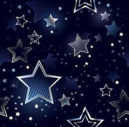 Kilpinis, skaitmeninės spaudos trikotažas Žvaigždės