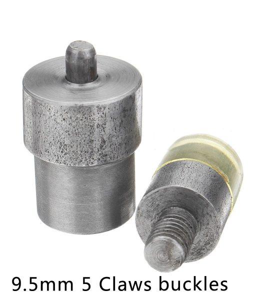 Antgalis (puansonas) 9,5 mm spaudėm su žiedeliu + 10 spaudžių